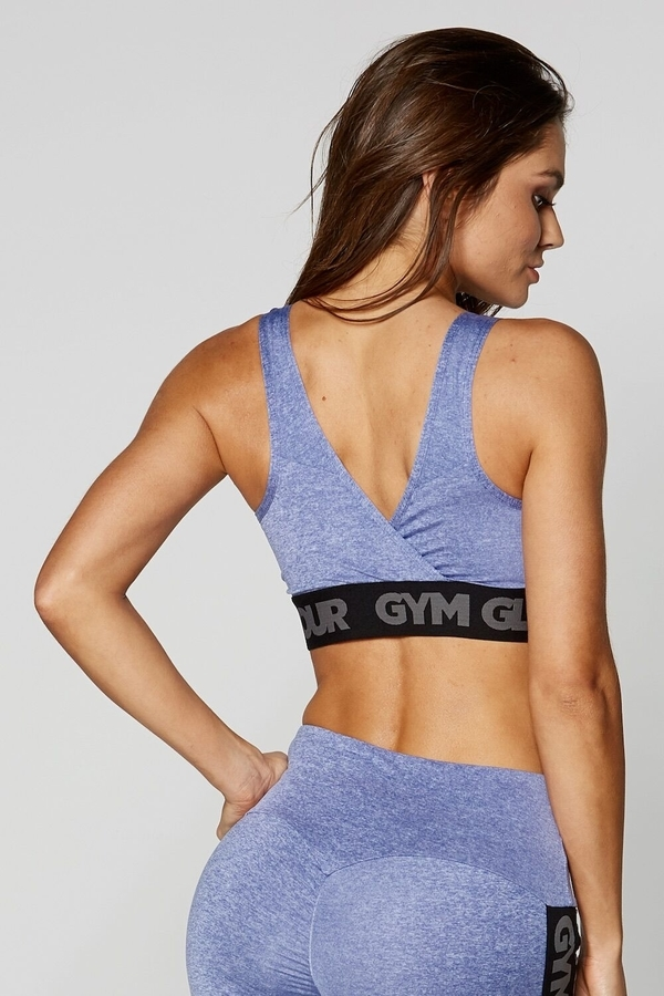 Gym Glamour Bra Purple Basic - 2
