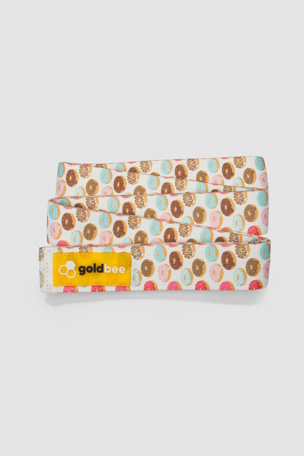 GoldBee Textile Resistance Band Long - Donuts - 2