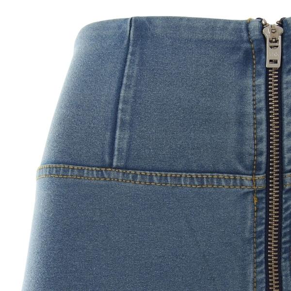 Freddy Jeans Světle Modré Vysoký Pas FW19 - XXS, XXS - 2