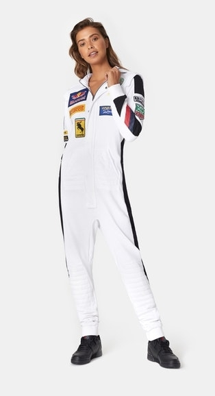 OnePiece Overal Formula White - S, S - 2
