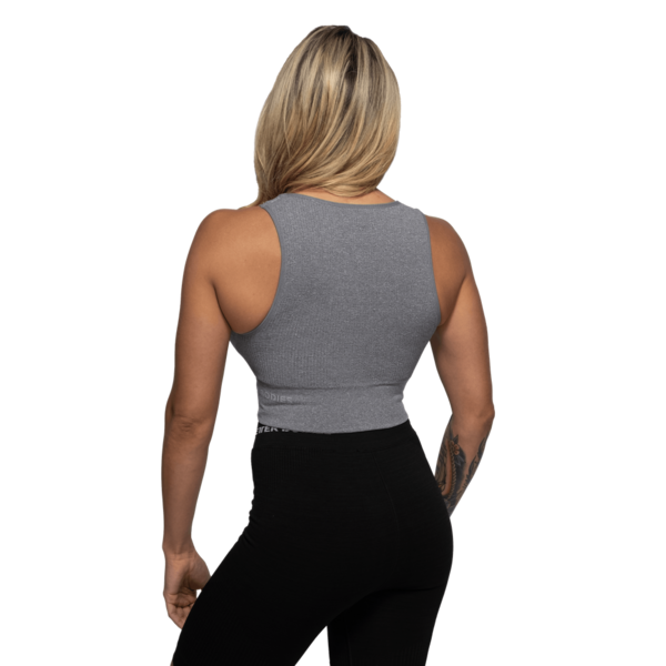 Better Bodies Top Rib Seamless Grey Melange - 2