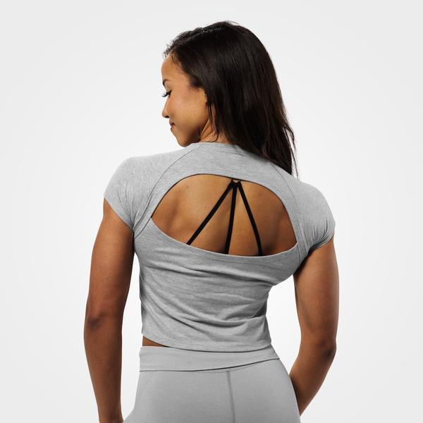 Better Bodies T-shirt Chelsea Tee Grey Melange - 2