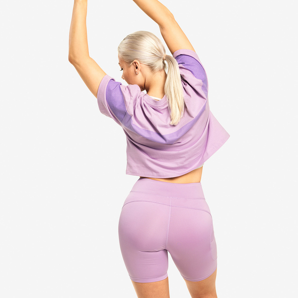 Better Bodies T-shirt Chrystie Tee Lilac, M - 2