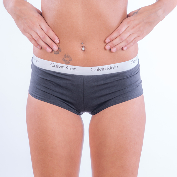 Calvin Klein Woman´s Boy Short Black - 2