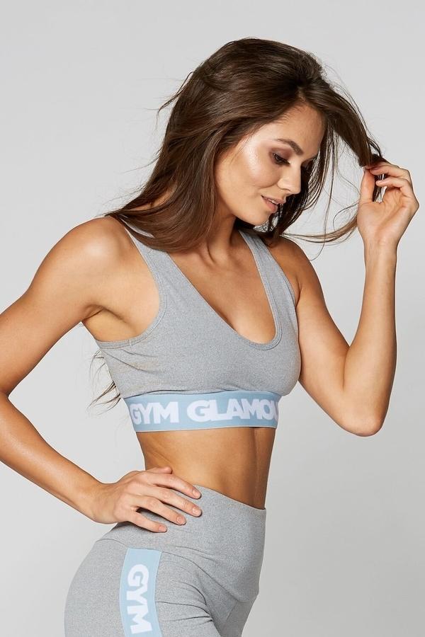 Gym Glamour Bra Grey Basic - 2