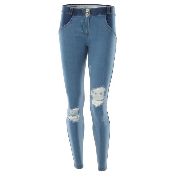 Freddy Jeans Světle Modré Potrhané FW17 - S, S - 2