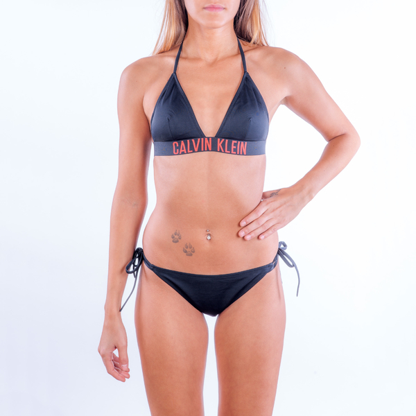 Calvin Klein Plavky Intense Power Spodní Díl Na Zavazování - S, S - 2