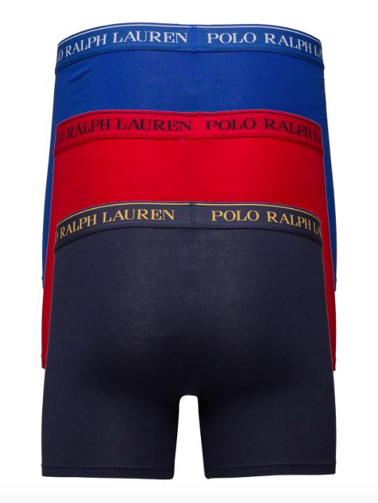 Ralph Lauren 3Pack Boxerky Navy&Blue&Red - XL, XL - 2