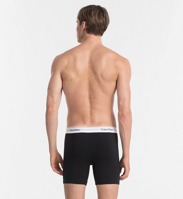 Calvin Klein 2Pack Boxerky Dlouhé Black - XL, XL - 2