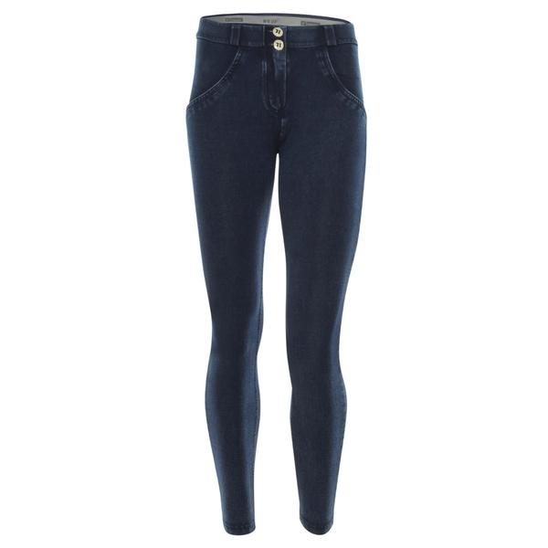 Freddy Jeans 7/8 Modré S Modrými Švy Normální Pas SS18 - XS, XS - 2