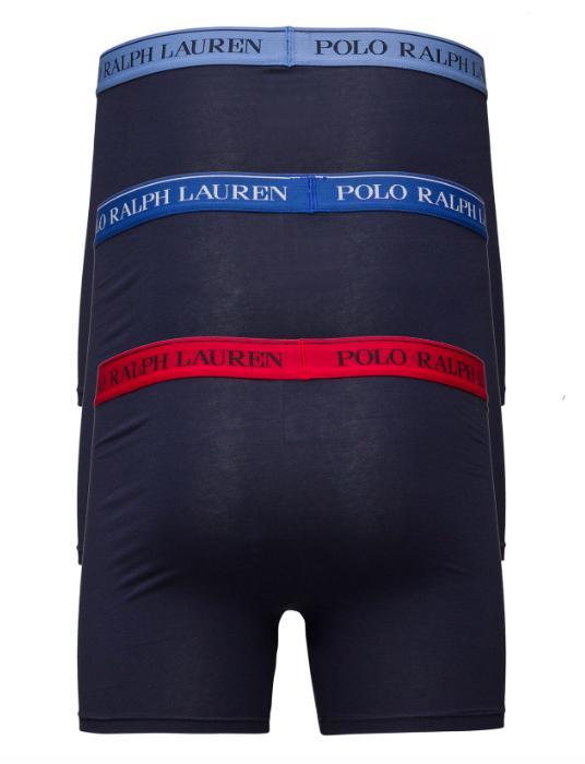 Ralph Lauren 3Pack Boxerky Navy&Sapphire - L, L - 2