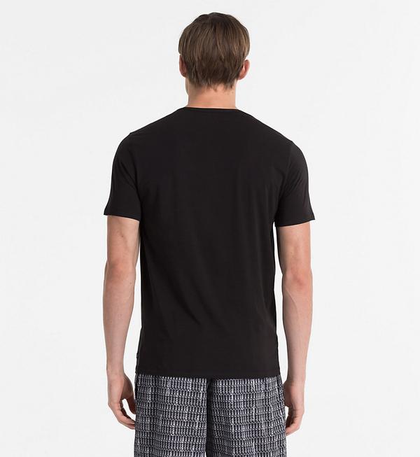 Calvin Klein Pánské Tričko CK Black - M, M - 2