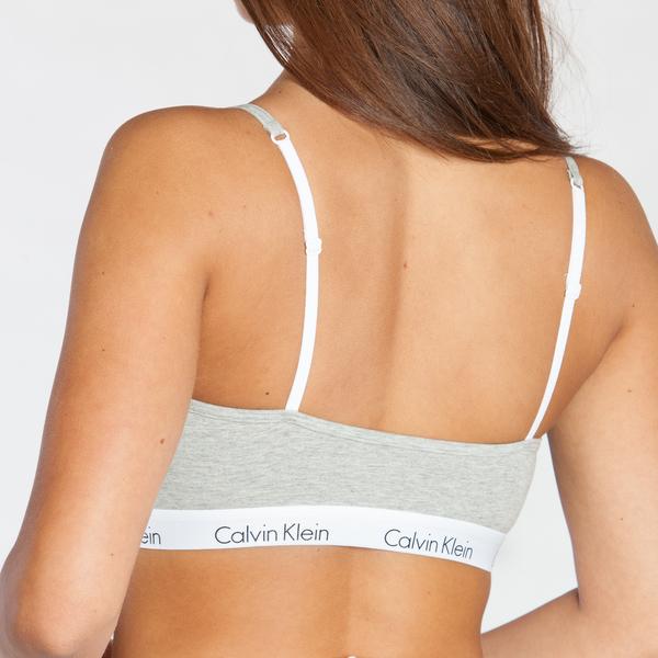 Calvin Klein Podprsenka Grey - S, S - 2