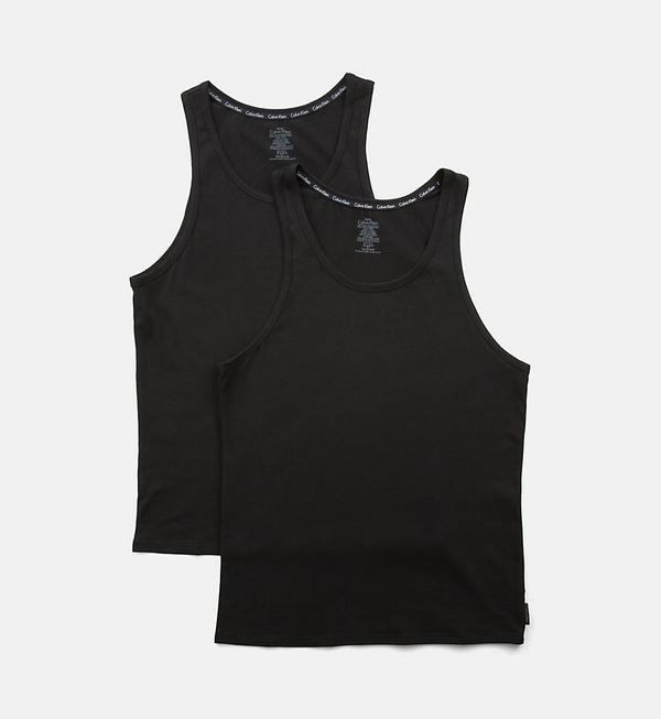 Calvin Klein 2Pack Tílka Pánská Černá - S, S - 2