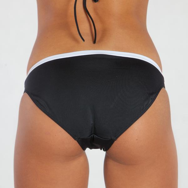 Calvin Klein Plavky Bandeau Černé Spodní Díl - XS, XS - 2