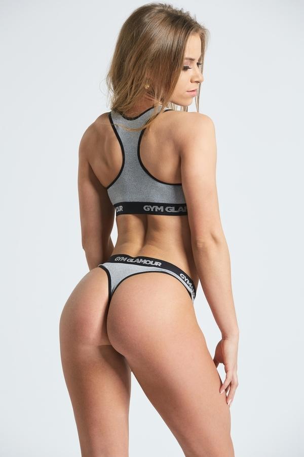 Set Spodní Prádlo Gym Glamour Grey - XS, XS - 2