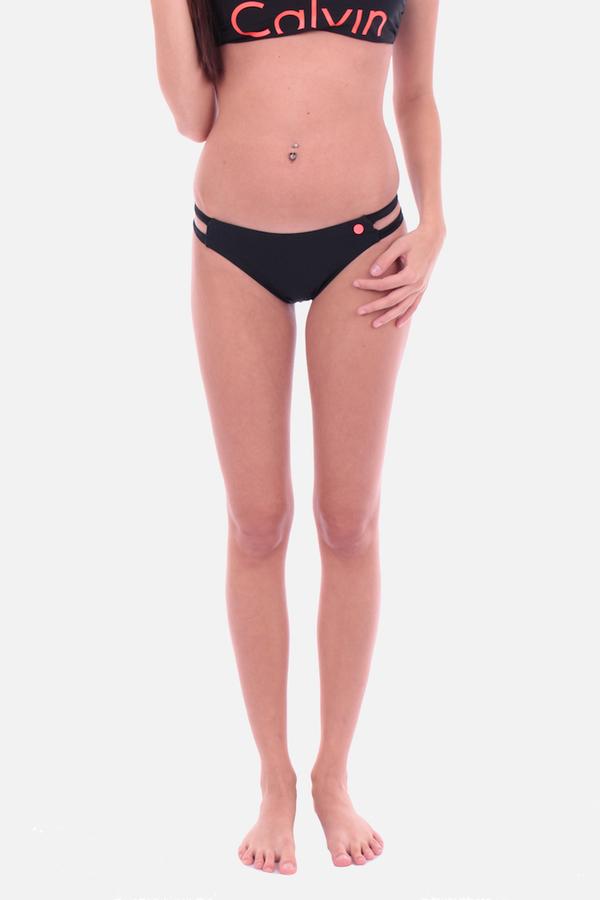 Calvin Klein Cheeky Bikini Plavky Black Spodní Díl - XS, XS - 2