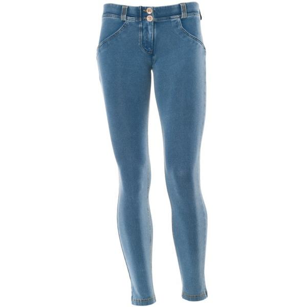 Freddy Jeans 7/8 Světle Modré SS18 Snížený Pas - S, S - 2