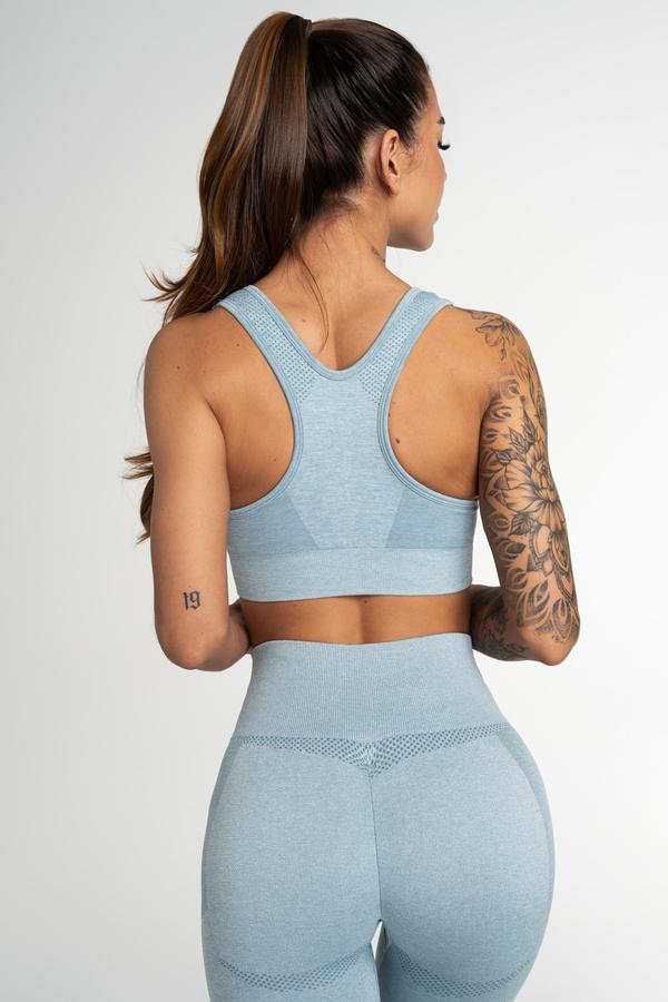 Gym Glamour Seamless Bra Fusion Blue, XS - 2