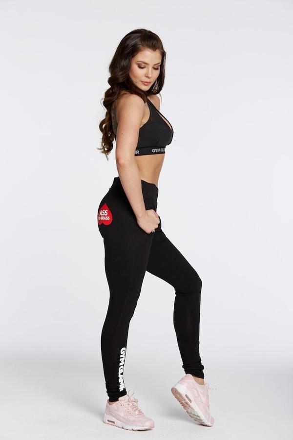 Gym Glamour Tracksuit Black, M - 2