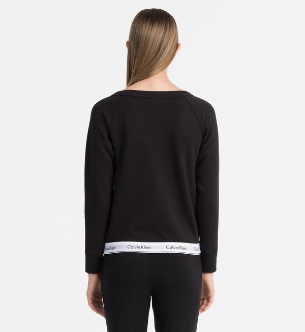 Calvin Klein Mikina Černá - XL, XL - 2