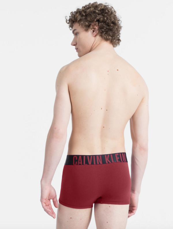 Calvin Klein Boxerky Intense Power Bordo - XL, XL - 2