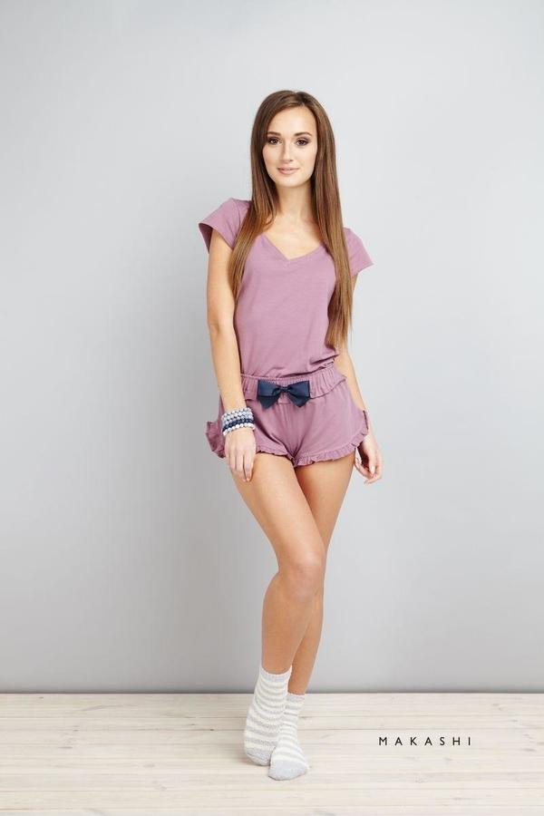 Kraťásky Na Spaní Purple - L, L - 2