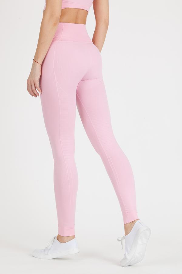 GoldBee Legíny BeSeamless Candy Pink - L, L - 2