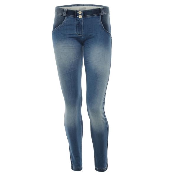 Freddy Jeans Světle Modré Vyšisované Normální Pas SS18 - S, S - 2