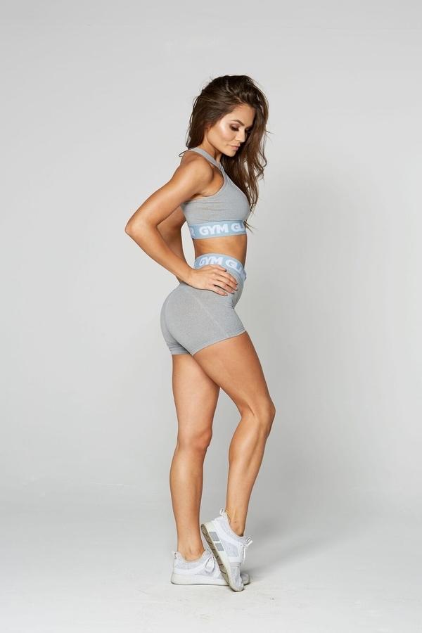 Gym Glamour Shorts Grey, XS - 2