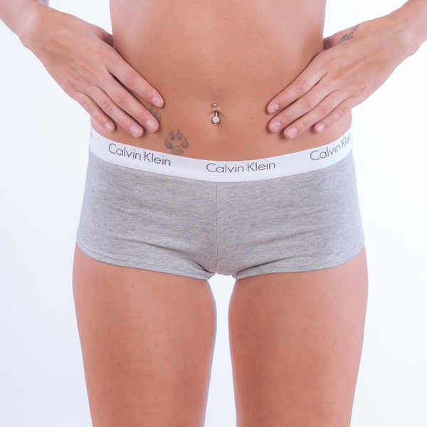 Calvin Klein Women´s Boy Short Grey - L, L - 2