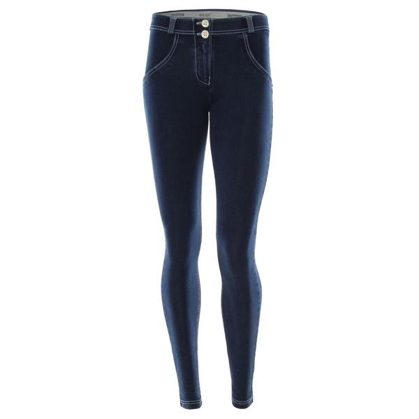 Freddy Jeans Modré S Bílými Švy Normální Pas FW19 - XL, XL - 2