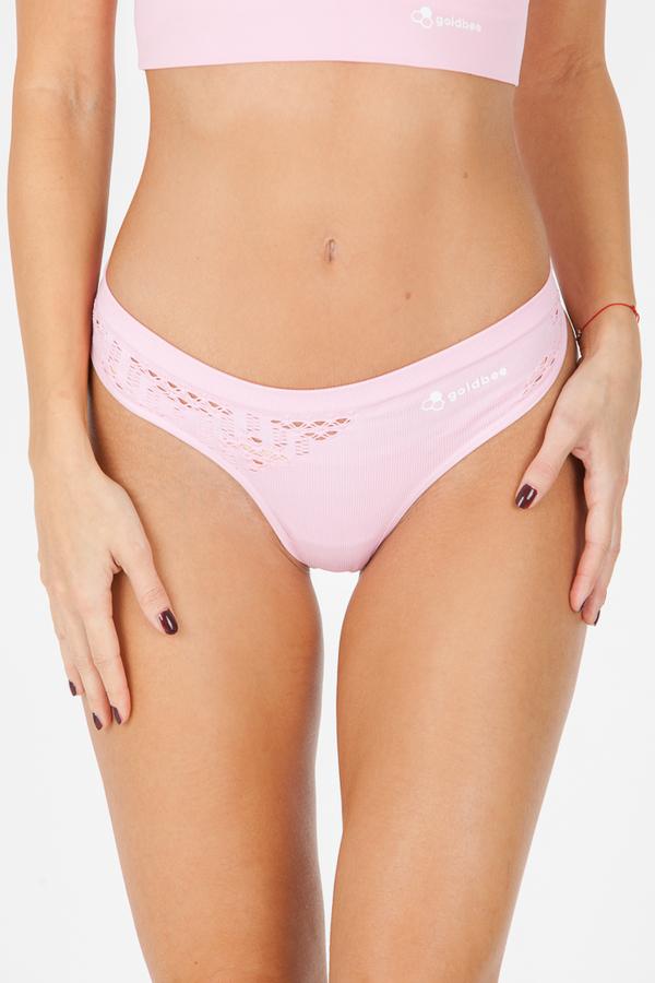 GoldBee BeString Candy Pink, XL - 2