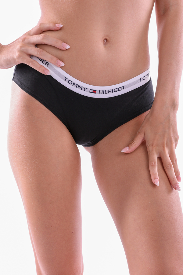 Tommy Hilfiger Shorty Iconic Black - S, S - 2