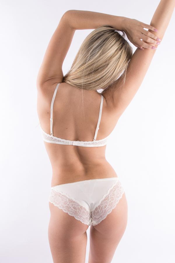 Calvin Klein Kalhotky Flirty Krémové - S, S - 2