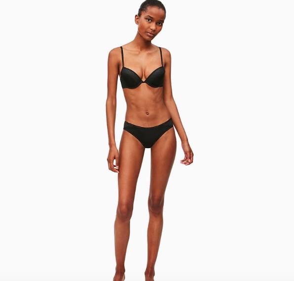 Calvin Klein Kalhotky Flirty Černé - S, S - 2