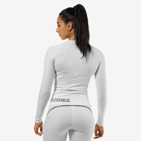 Better Bodies T-shirt Nolita Seamless Long Sleeve White - 2