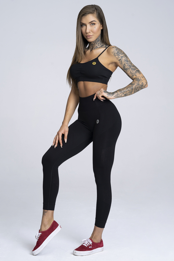 Gym Glamour Leggings Seamless Black - 2