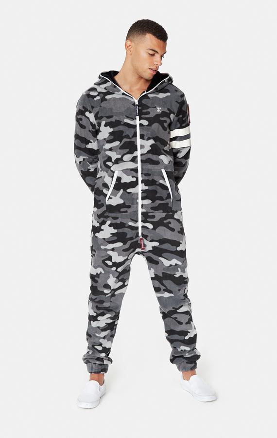 OnePiece Alps Camo Fleece Black - M, M - 2