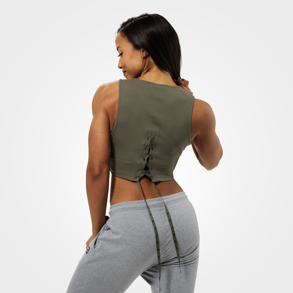 Better Bodies Crop-top Astoria Washed Green - S, S - 2