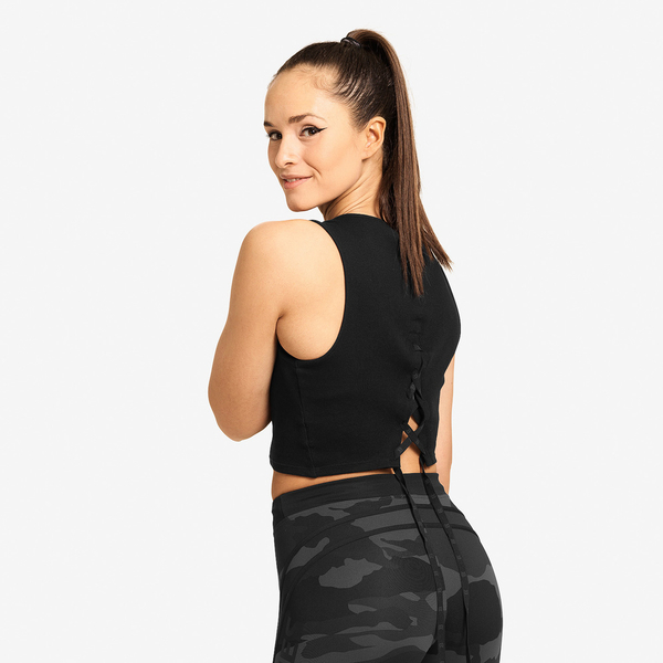 Better Bodies Crop-top Astoria Black - 2