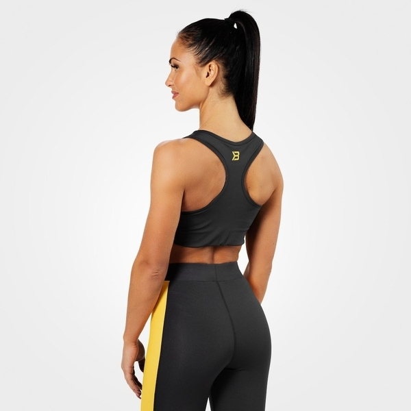 Better Bodies Podprsenka Bowery Sports Black/Yellow - L, L - 2