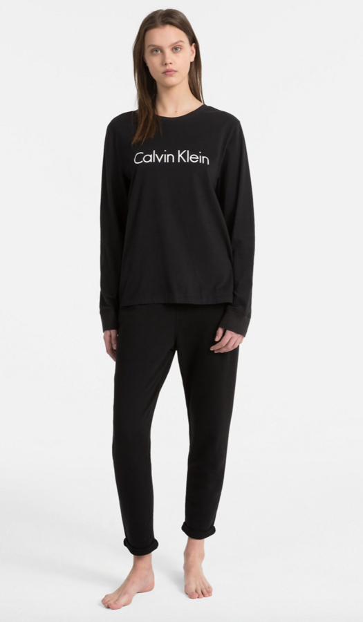 Calvin Klein Tričko Logo Black - 2