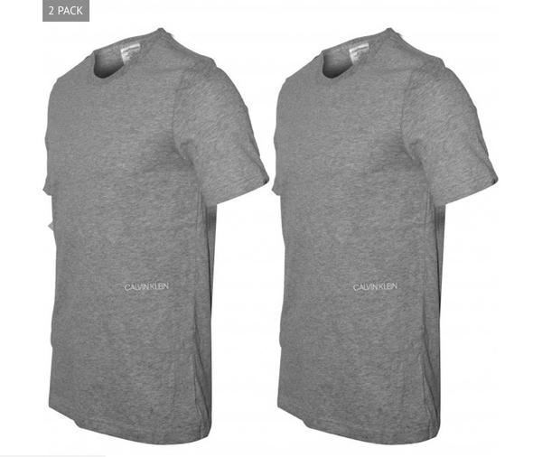 Calvin Klein 2Pack T-Shirts STATEMENT 1981 Grey - XL, XL - 2