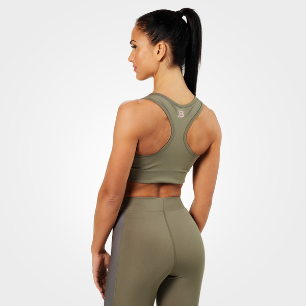 Better Bodies Podprsenka Bowery Sports Washed Green - L, L - 2