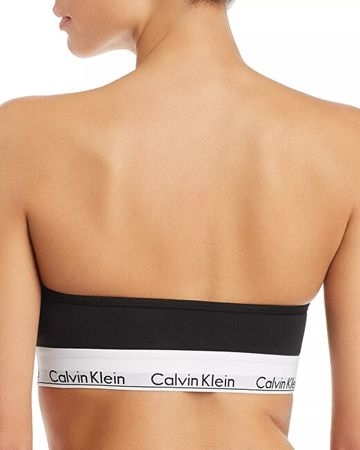 Calvin Klein Podprsenka Bandeau Black - M, M - 2