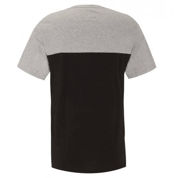 Calvin Klein Pánské Tričko Logo Šedo-Černé - 2