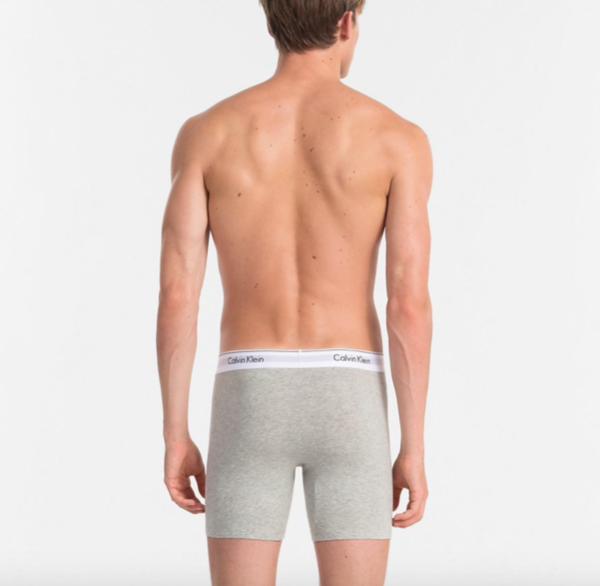 Calvin Klein 2Pack Boxerky Dlouhé Black&Grey - XL, XL - 2