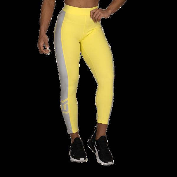 Better Bodies Legíny Chrystie High Lemon Yellow - M, M - 2