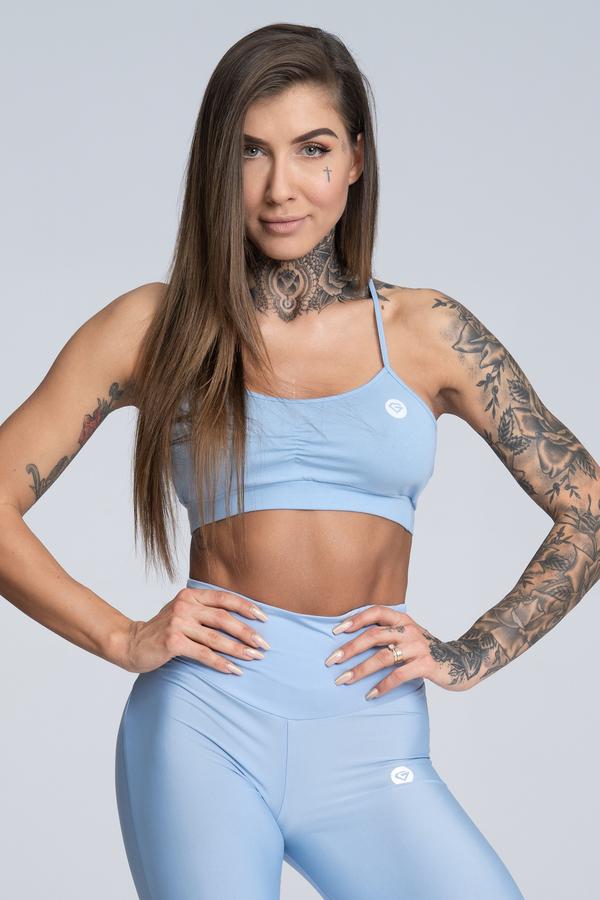 Gym Glamour Bra Simple Dream Blue - 2